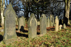 Old Traditional English Graveyard Royalty Free Stock Photography