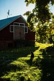 Old traditional finnish barn Royalty Free Stock Photography