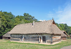 Old traditional house. In Ukraine Stock Image