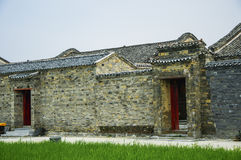 The old traditional house of China Royalty Free Stock Image