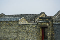 The old traditional house of China Royalty Free Stock Photos