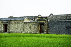 The old traditional house of China Royalty Free Stock Images