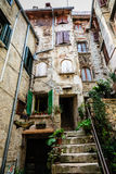 Old Traditional House in the City of Rovinj Royalty Free Stock Image
