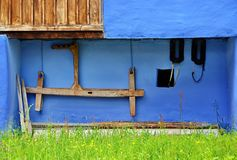 Old traditional house detail Royalty Free Stock Images