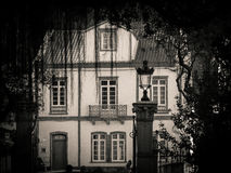 Old traditional house in Furnas Royalty Free Stock Photography