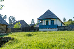 Old traditional house in Romania. Old traditional house located in the picturesque landscape, Romania Stock Images