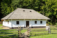 Old traditional house in Romania. Old traditional house located in the picturesque landscape, Romania Royalty Free Stock Images