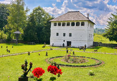 Old traditional house in Romania royalty free stock photography