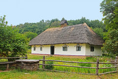 Old traditional house in Ukraine Royalty Free Stock Images