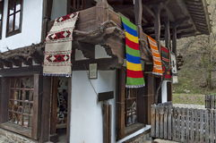Old traditional houses in Etar Stock Image