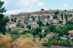 Old traditional houses in Safranbolu, Turkey. Old traditional houses at Safranbolu, Turkey royalty free stock photo