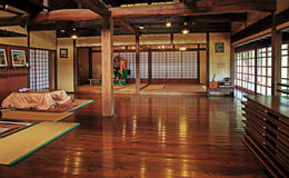 Old traditional Japanese House Interior Royalty Free Stock Image