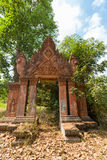 Old traditional Khmer temple in Siem Reap, Cambodia Stock Images