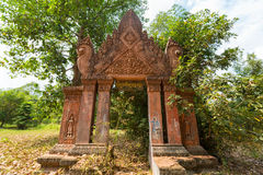 Old traditional Khmer temple in Siem Reap, Cambodia Stock Photography
