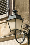 Old traditional lantern at Corfu Royalty Free Stock Photo