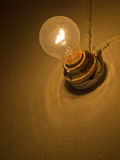 Old Traditional light bulb Stock Image