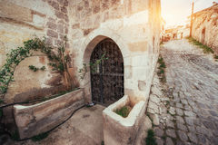 Old traditional Ottoman house in the background Royalty Free Stock Image