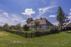 Old Traditional Polish House in Sanok Royalty Free Stock Images