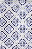 Old traditional Portuguese Azulejos Royalty Free Stock Image