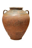 Old traditional pot. Old traditional vintage pot ancient antique Stock Photo