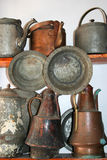 Old traditional pots Royalty Free Stock Photography