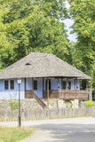 Old traditional romanian house Stock Image