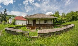 Old traditional romanian house Stock Photography