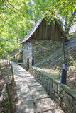 Old traditional romanian watermill Stock Image