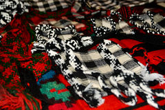 Old traditional romanian wool handmade things Royalty Free Stock Photos