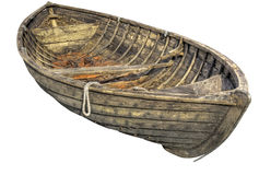 Old traditional rowboat. Stock Photos