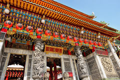 Old traditional Sanfeng Temple Stock Image