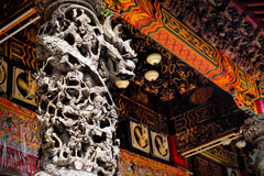 Old traditional Sanfeng Temple Royalty Free Stock Image