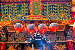 Old traditional Sanfeng Temple Royalty Free Stock Photo