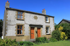 Old traditional  semi detached farmhouse. Stock Photography