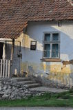 Old traditional Serbian house in the village Stock Photo