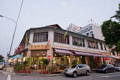 Old Traditional Shophouse Stock Image