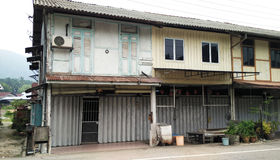 Old traditional shophouse Stock Images