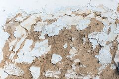 Free Old Traditional Stucco Adobe From Straw And Clay Stock Photos - 169521863