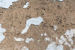 Free Old Traditional Stucco Adobe From Straw And Clay Stock Image - 169521891