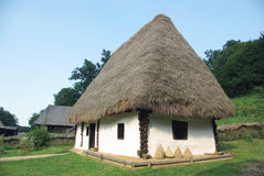 Old traditional village house Stock Image
