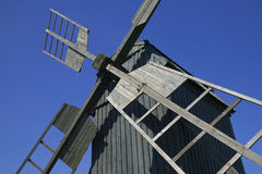 Old traditional windmill Royalty Free Stock Photos