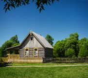 Old traditional wooden house Stock Photography
