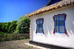 Old traditional wooden house Royalty Free Stock Photo