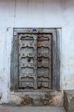 Old traditional zanzibar door Stock Images