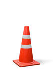Old traffic cones on  white background. Stock Photography