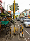 Old Traffic Light in Malioboro Street. An Unused Old traffic light in Malioboro Stock Image