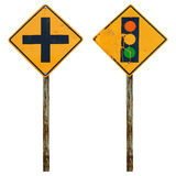 Old traffic sign Stock Photography