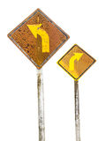 Old traffic sign Royalty Free Stock Images