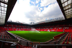 Old trafford stadium. The Old trafford is big stadium Stock Photos
