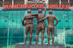 Old trafford, Manchester United Royalty Free Stock Photo